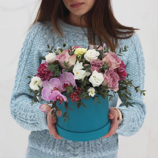 Бокс 15: букеты цветов на заказ Flowwow