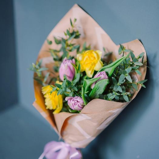 "Букет ""Весна в Альпах"": букеты цветов на заказ Flowwow"