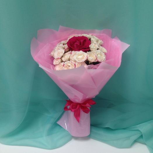 Айскрим: букеты цветов на заказ Flowwow