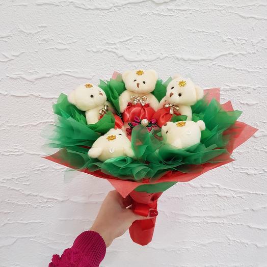 Букет из игрушек2: букеты цветов на заказ Flowwow