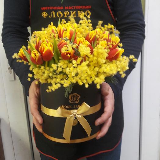 Тюльпанчик: букеты цветов на заказ Flowwow