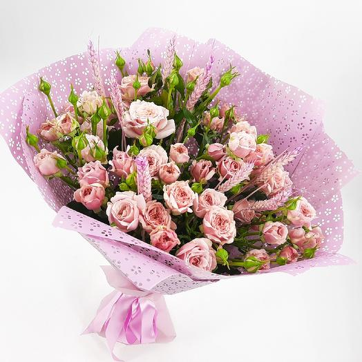 Сиреневая дымка: букеты цветов на заказ Flowwow