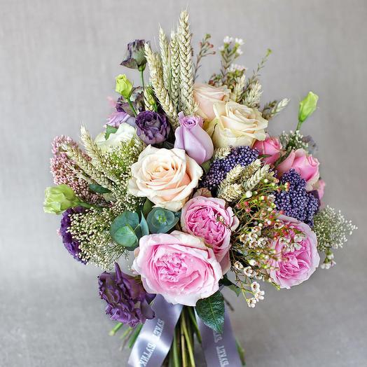 """Большой букет """"Прованс"""": букеты цветов на заказ Flowwow"""