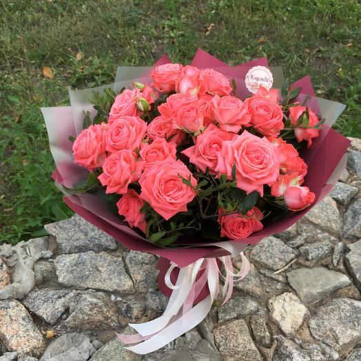 Букет «Барбадос»: букеты цветов на заказ Flowwow