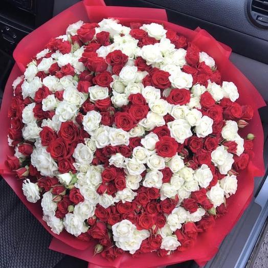 151 кустовая роза: букеты цветов на заказ Flowwow
