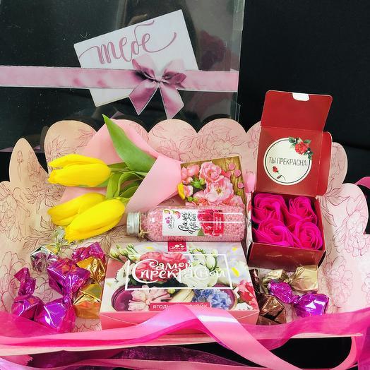 Подарок для самой прекрасной ️💛️: букеты цветов на заказ Flowwow