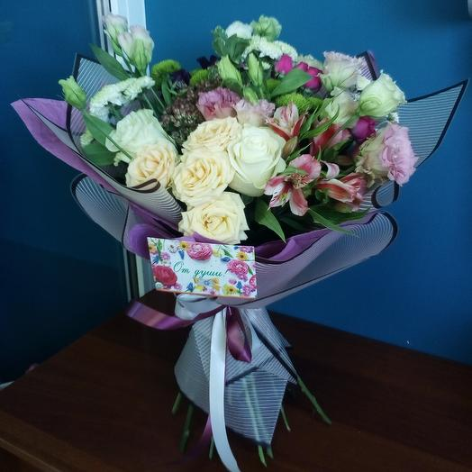 Девичьи грёзы: букеты цветов на заказ Flowwow