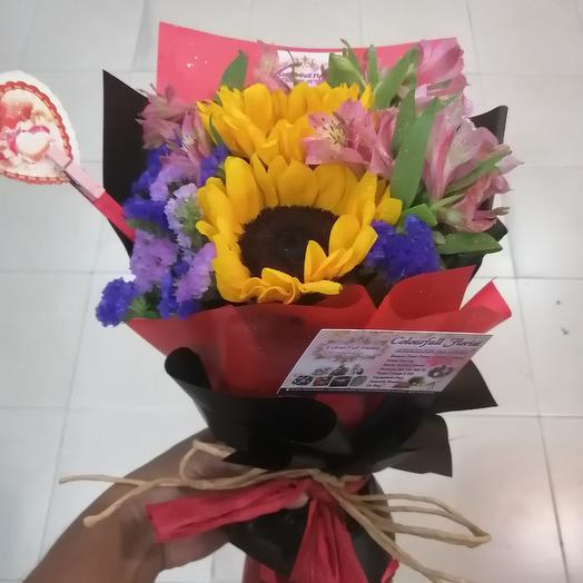 Helianthus Altromeria: flowers to order Flowwow
