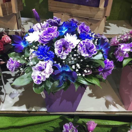 Чарующая коробка: букеты цветов на заказ Flowwow