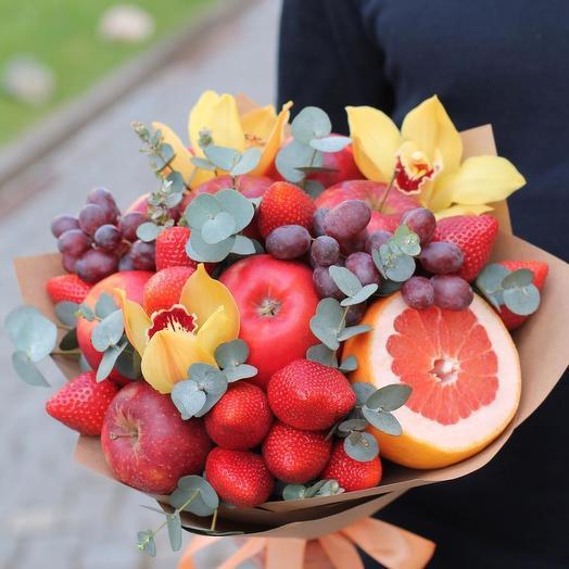 Красочный калейдоскоп: букеты цветов на заказ Flowwow