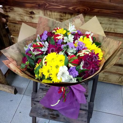 Клубочек: букеты цветов на заказ Flowwow