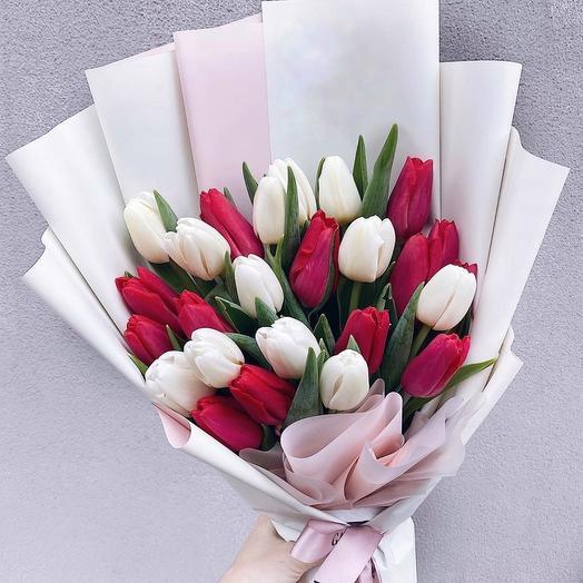 Весна близко 21: букеты цветов на заказ Flowwow