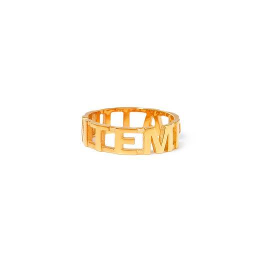 Позолоченное кольцо Temptation, размер 17,5: букеты цветов на заказ Flowwow