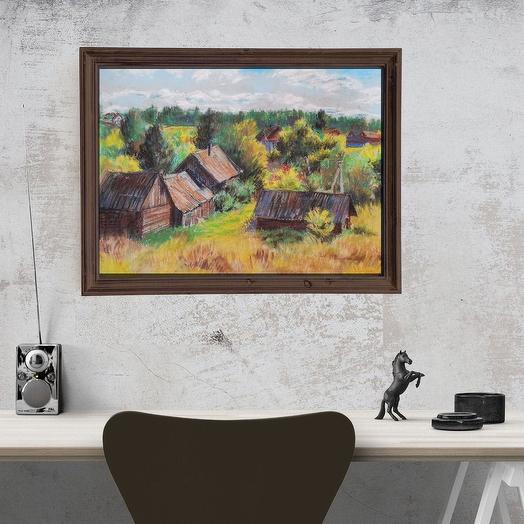 "Картина ""Вид с вершины холма"""