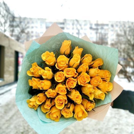 Букет из 33 роз Кения