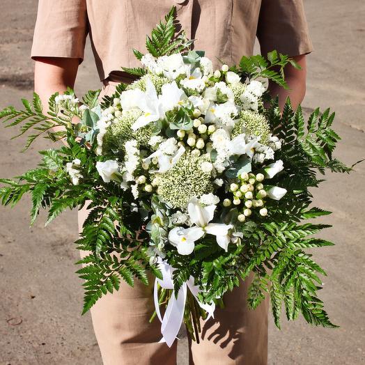 White exotic: букеты цветов на заказ Flowwow