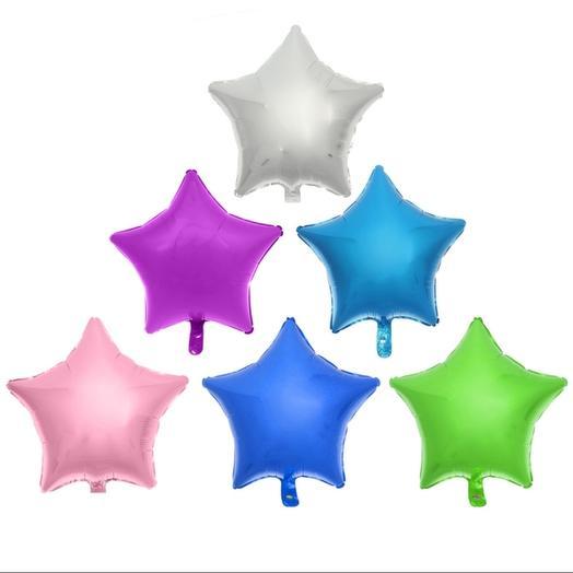 Фальгированный шар звезда микс