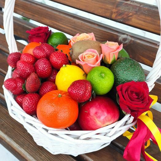 """Fruit Basket """"For health"""""""