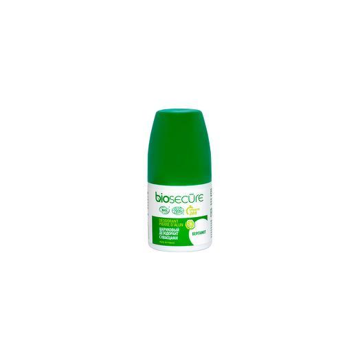 Шариковый дезодорант с квасцами «Бергамот», Biosecure