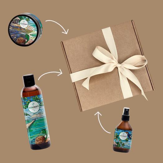 Подарочный набор: уход для волос, Coconut Collection