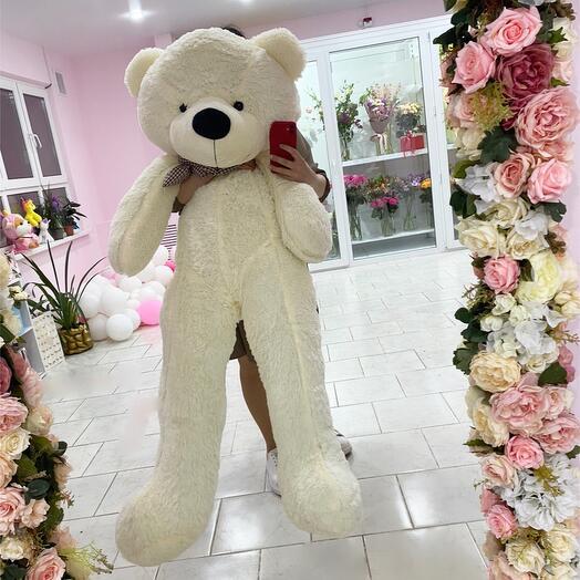 Белый Медведь 140см