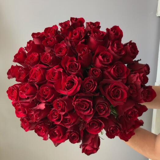 Букет 51 красная роза»