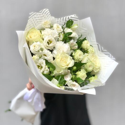 """Bouquet with taste"" XS white"