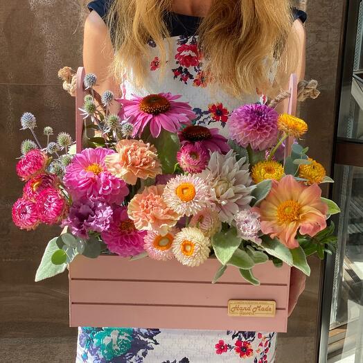 ✅ Авторские Цветы в коробке