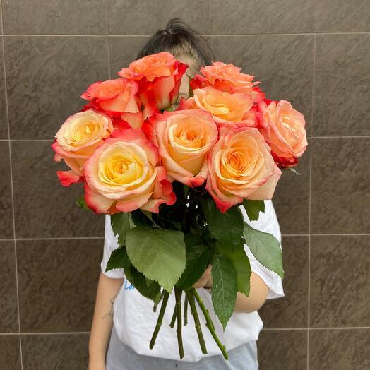 9 роз 🧡