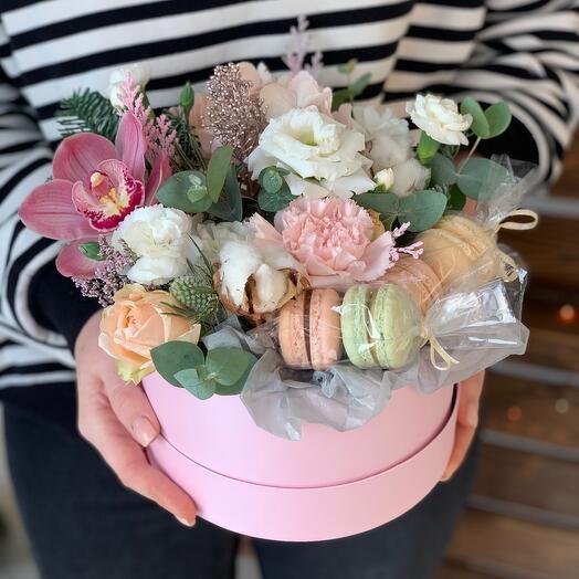 Цветы + Макаронс