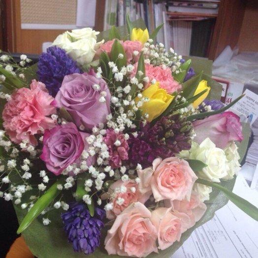 Букет Сиреневый туман: букеты цветов на заказ Flowwow