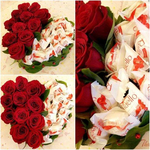 Секрет любви: букеты цветов на заказ Flowwow