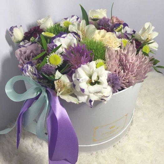 Цветочная коробка Весна