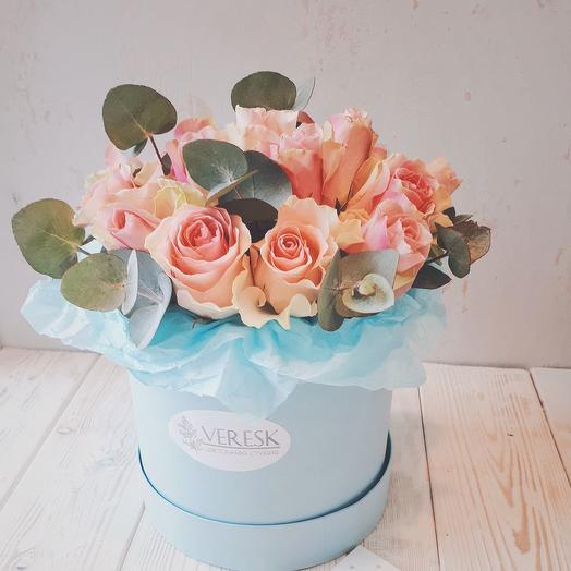 Коробочка от Тиффани: букеты цветов на заказ Flowwow