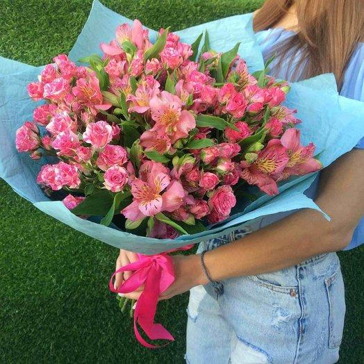 Букет Влюбленность: букеты цветов на заказ Flowwow