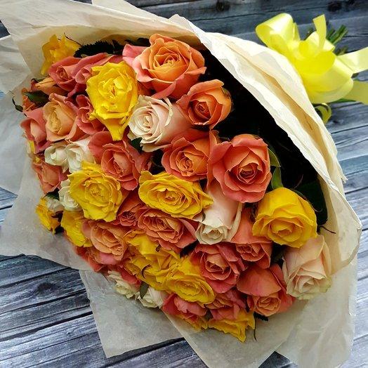 Букет  От всего сердца: букеты цветов на заказ Flowwow