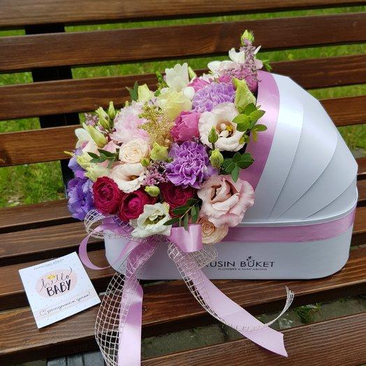На рождение малышки ЛЮЛЬКА XL: букеты цветов на заказ Flowwow