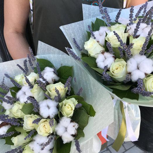 Лаванда, розы и хлопок!