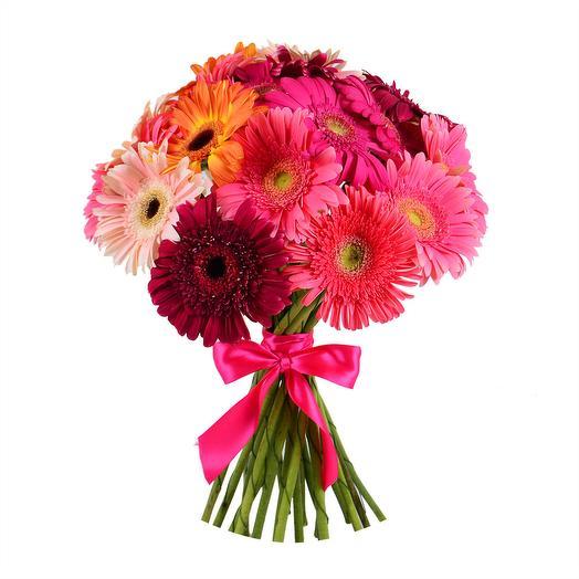 Гербера 21: букеты цветов на заказ Flowwow