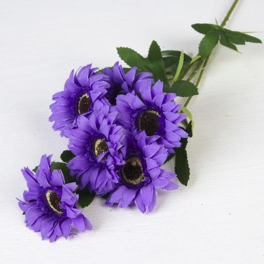 """Цветы искусственные """"Гербера садовая"""", цвета микс: букеты цветов на заказ Flowwow"""