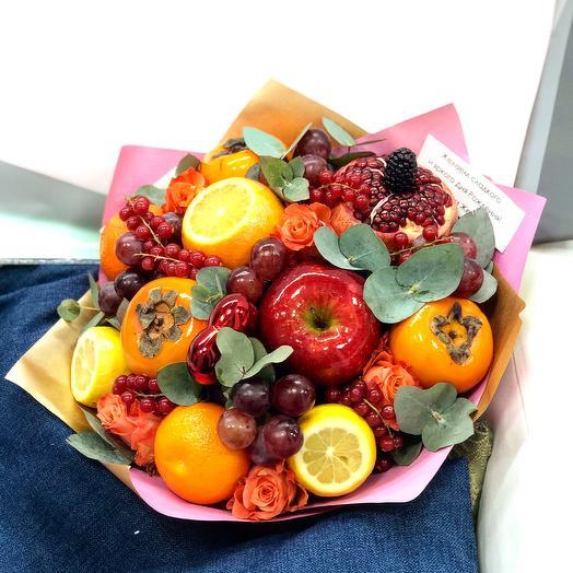 Букет Фруктово-ягодный: букеты цветов на заказ Flowwow