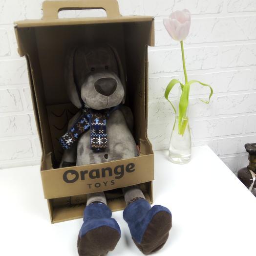 Собака плюшевый: букеты цветов на заказ Flowwow
