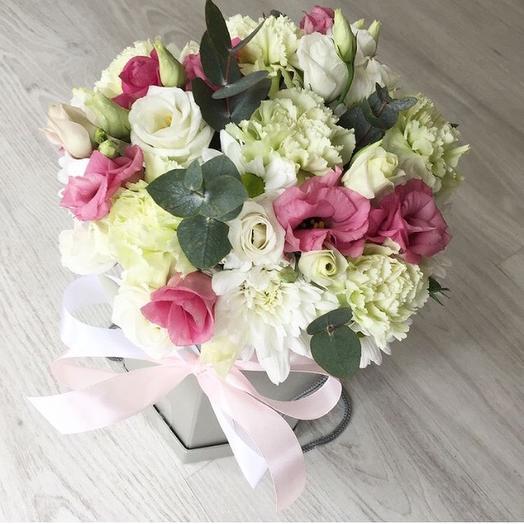 Коробочка 10: букеты цветов на заказ Flowwow