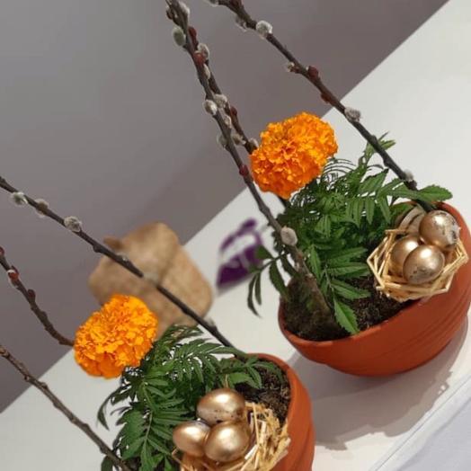 Уют - цветочная композиция: букеты цветов на заказ Flowwow