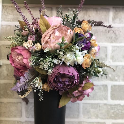 Интерьерные пионы: букеты цветов на заказ Flowwow
