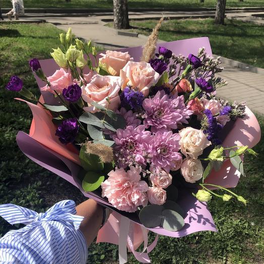 Мечтательный: букеты цветов на заказ Flowwow