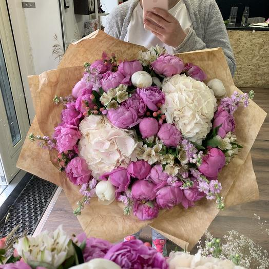 Огромный букет: букеты цветов на заказ Flowwow