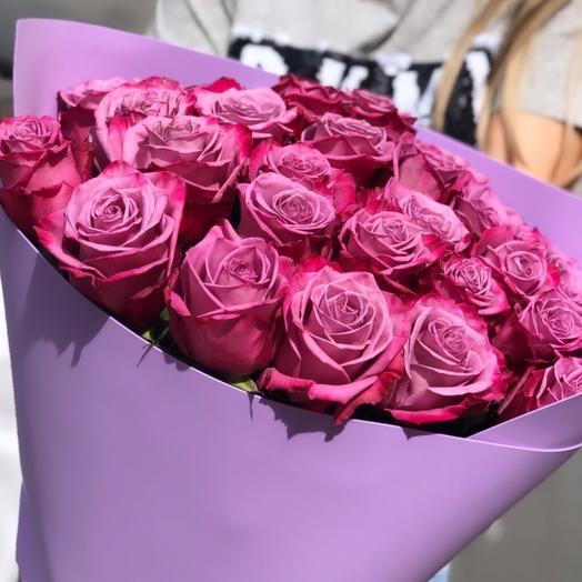Розы Дип Пепл: букеты цветов на заказ Flowwow