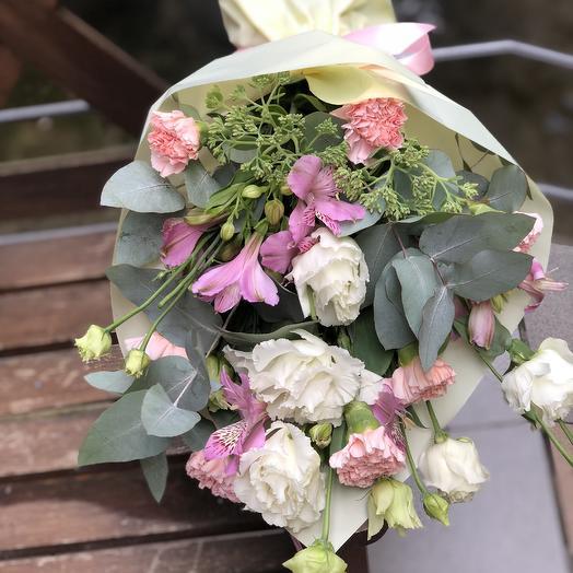 Летний запах: букеты цветов на заказ Flowwow