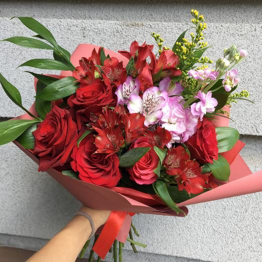 Букет 2194: букеты цветов на заказ Flowwow
